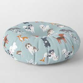 MEDITERRANEAN DOGS Floor Pillow
