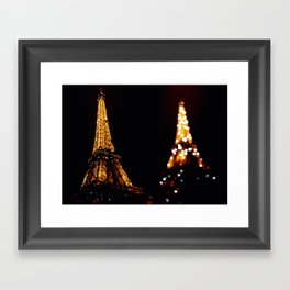 Eiffel Tower(s) Framed Art Print