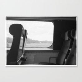 A train ride Canvas Print