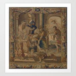 The Death of Achilles Art Print