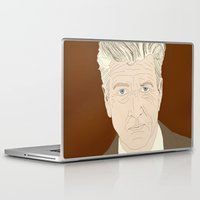 david lynch Laptop & iPad Skins featuring LYNCH by Itxaso Beistegui Illustrations