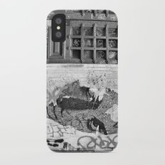 Paris, somewhere on a wall iPhone X Slim Case
