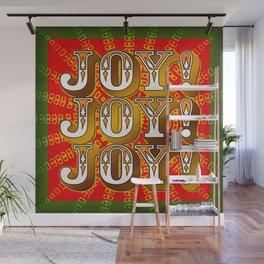 Joy! Joy! Joy! Wall Mural