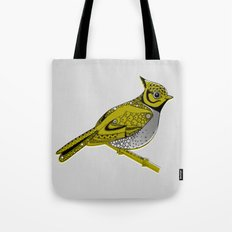 Crested Tit Tote Bag