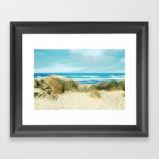 Dune view Framed Art Print