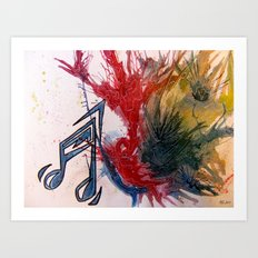Extremely Loud... Art Print