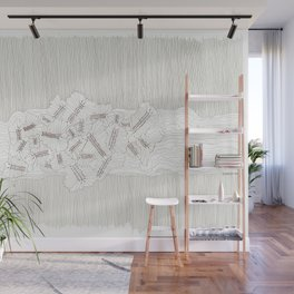 Evolutions - Fossilized Layers Wall Mural