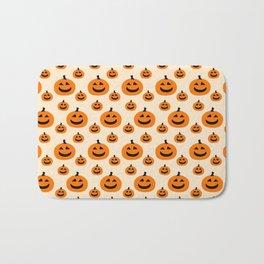 Halloween Pumpkins Bath Mat