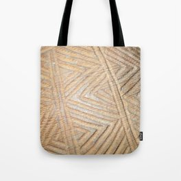 Wooden carving southwest Tote Bag