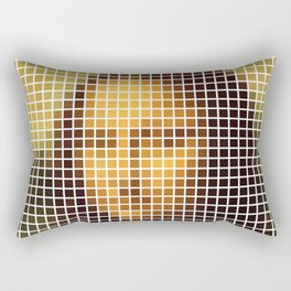 Mona Lisa Deconstructed Rectangular Pillow