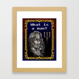 Dracula Jeopardy Framed Art Print