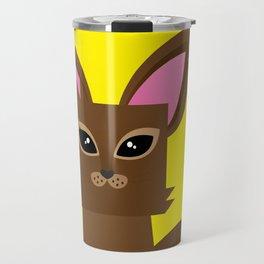 Furry Kitty Travel Mug