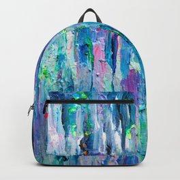 Silver Rain Backpack