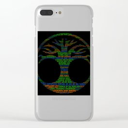 Tree Of Life .... Clear iPhone Case