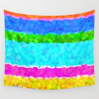miami Wall Tapestries featuring Miami by Saundra Myles