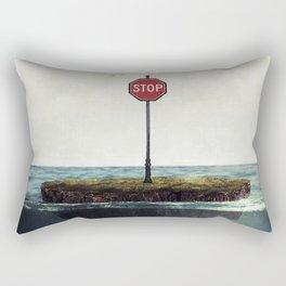 Stop ... Rectangular Pillow