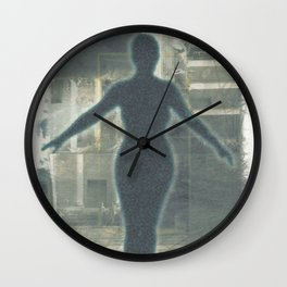 For My Mother Wall Clock