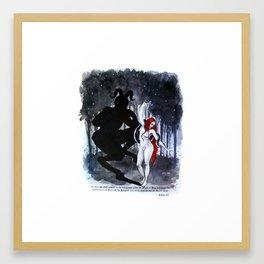 Babalon. Liber 49 Framed Art Print