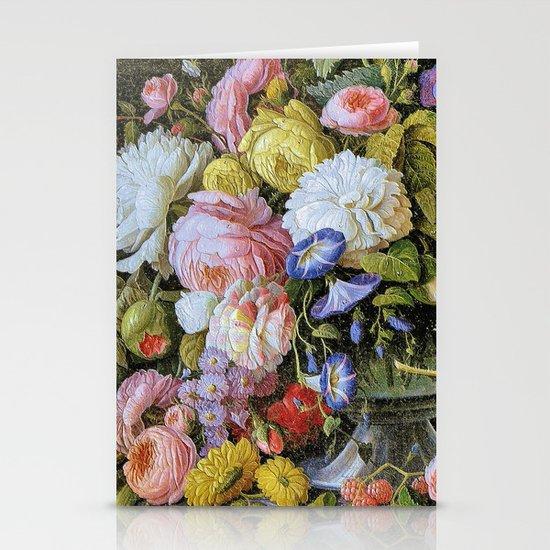 Vintage Varnish- Flowers&Fruit Stationery Cards