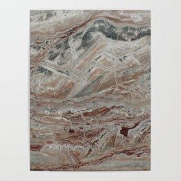 Arabescato-Orobico Fine Marble Poster