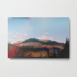 Autumn in Kenai Fjords National Park Metal Print