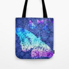 Flower & Butterflies Tote Bag