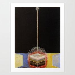 Hilma Af Klint Altarpiece Group IX No 3 Art Print