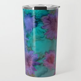 Flowers abstract #2 Travel Mug