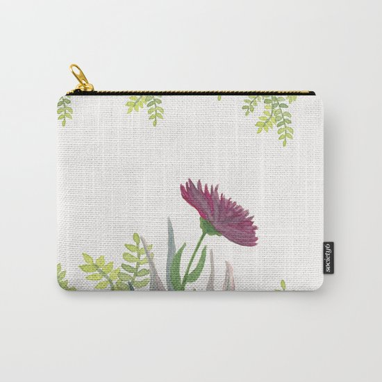 Botanical vibes 08 Carry-All Pouch