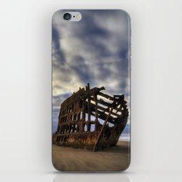 Peter Iredale Shipwreck Sunrise iPhone Skin