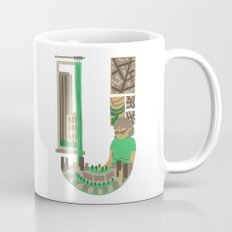 U as Urbaniste (Town planner) Coffee Mug