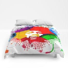 JIMI0402_water color Comforters