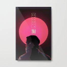 Blade Runner 2067 Metal Print