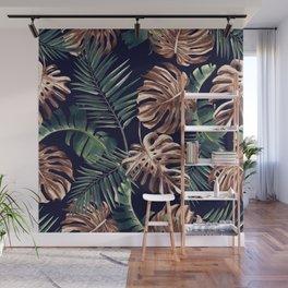 Tropical Garden - Night Wall Mural