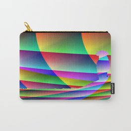 Lonely colorful cow Carry-All Pouch