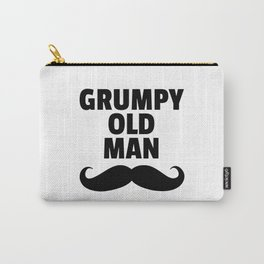 Grumpy Old Man Funny Quote Carry-All Pouch