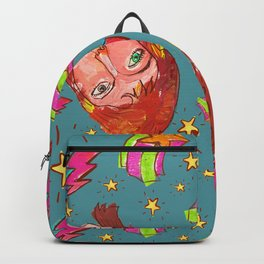 Glam Rock Icon Pattern Backpack