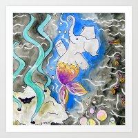 Merephant  Art Print