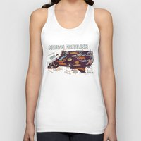 north carolina Tank Tops featuring NORTH CAROLINA by Christiane Engel