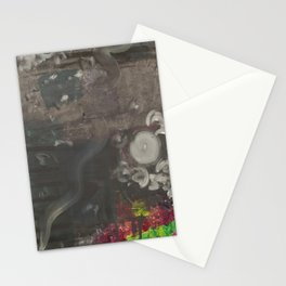 Swirley Space Stationery Cards