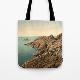 """Pointe du Raz Douarnenez France"" Tote Bag"