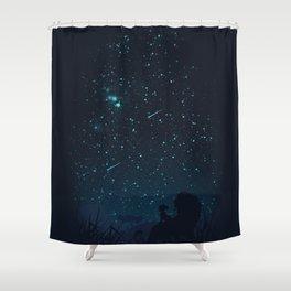 Under The Stars Shower Curtain