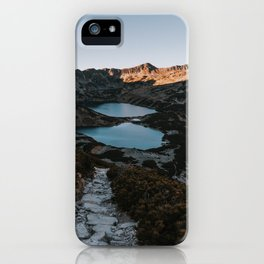 Mountain Ponds - Landscape and Nature Photography iPhone Case