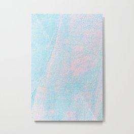 Fine Pastel Metal Print