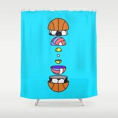 Big Balls Shower Curtain