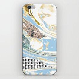 Light Blue Channels #2 iPhone Skin