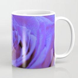 Purple Blue Rose Coffee Mug