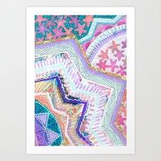 Aligning Vision Art Print