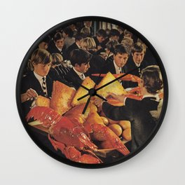 Big Lunch Wall Clock