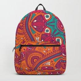 Colorful Mandala Pattern 017 Backpack